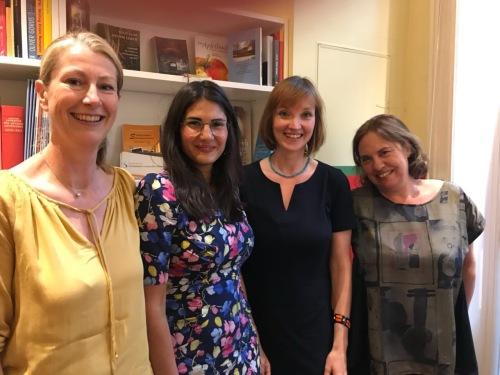 Kathrin Laville, Dr.Adak Primorady, Dr.Nike Spinnler, Susanne Diehm